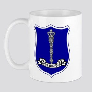 USS Norfolk (DL 1) Mug