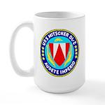 USS Mitscher (DL 2) Large Mug