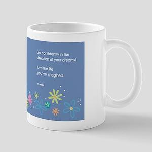 Thoreau wrap around... Mugs