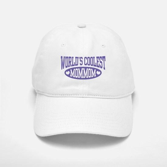 World's Coolest MomMom Baseball Baseball Cap