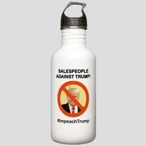 SALESPEOPLE AGAINST TR Stainless Water Bottle 1.0L