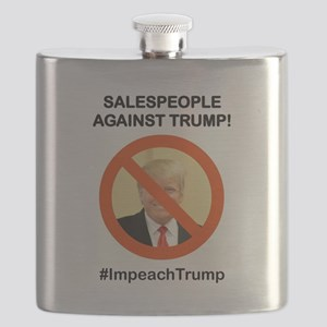 SALESPEOPLE AGAINST TRUMP Flask