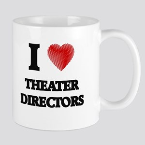 I love Theater Directors (Heart made from wor Mugs