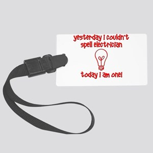 Funny Electrician Luggage Tag