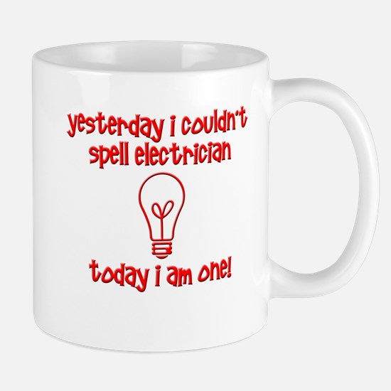 Funny Electrician Mugs