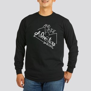 Hiking And So The Adventure Be Long Sleeve T-Shirt