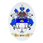 Peal Oval Ornament