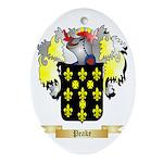 Peake Oval Ornament