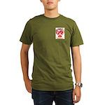 Peach Organic Men's T-Shirt (dark)