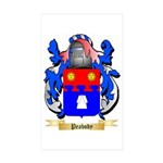 Peabody Sticker (Rectangle 10 pk)