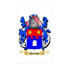 Peabody Sticker (Rectangle 50 pk)