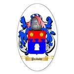 Peabody Sticker (Oval 50 pk)