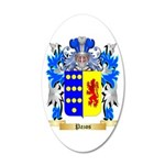 Pazos 20x12 Oval Wall Decal