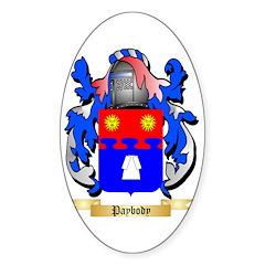 Paybody Sticker (Oval 10 pk)