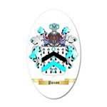 Paxon 35x21 Oval Wall Decal