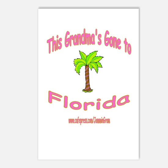 NANA OFF TO FLORIDA Postcards (Package of 8)