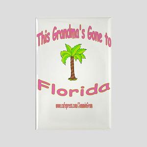 NANA OFF TO FLORIDA Rectangle Magnet