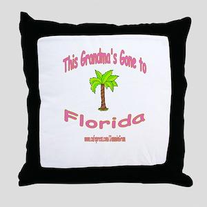 NANA OFF TO FLORIDA Throw Pillow