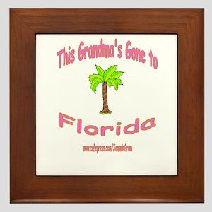 NANA OFF TO FLORIDA Framed Tile