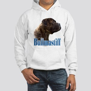 Bullmastiff(brindle)Name Hooded Sweatshirt