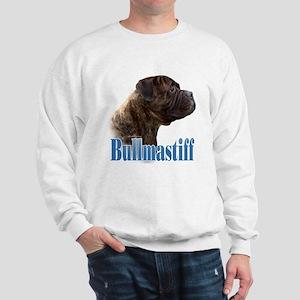 Bullmastiff(brindle)Name Sweatshirt