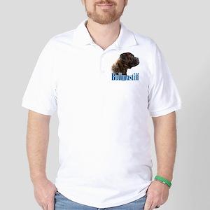 Bullmastiff(brindle)Name Golf Shirt