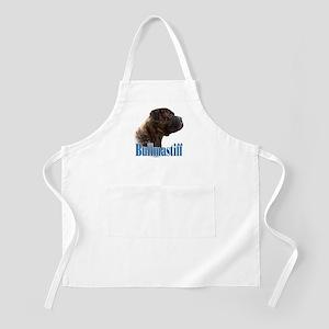 Bullmastiff(brindle)Name BBQ Apron