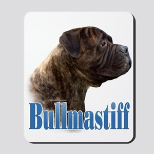 Bullmastiff(brindle)Name Mousepad