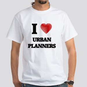 I love Urban Planners (Heart made from wor T-Shirt