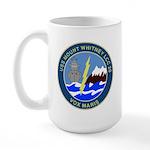 USS Mount Whitney (LCC 20) Large Mug