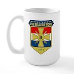 USS Belleau Wood (LHA 3) Large Mug