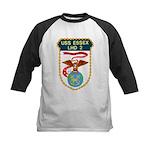 USS Essex (LHD 2) Kids Baseball Jersey