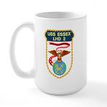USS Essex (LHD 2) Large Mug