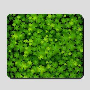 Beautiful Irish Shamrocks Mousepad