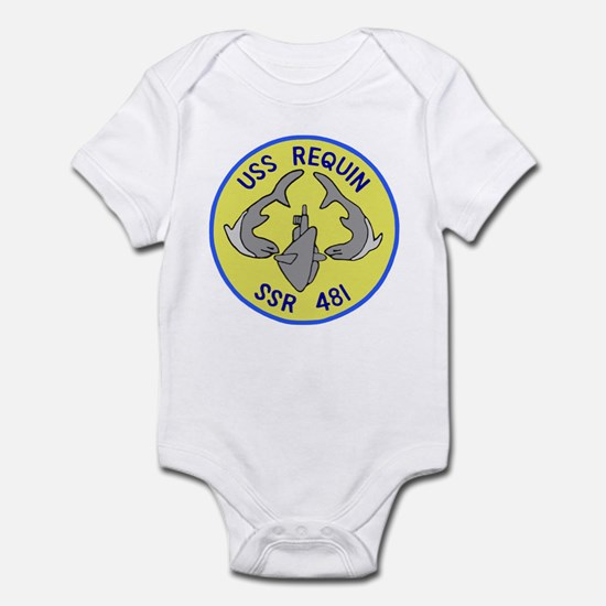 USS Requin (SSR 481) Infant Bodysuit