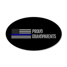 Police: Proud Grandparents Wall Decal