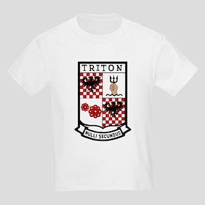 USS Triton  (SSRN 586) Kids Light T-Shirt
