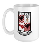 USS Triton (SSRN 586) Large Mug