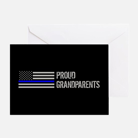 Police: Proud Grandparents Greeting Card