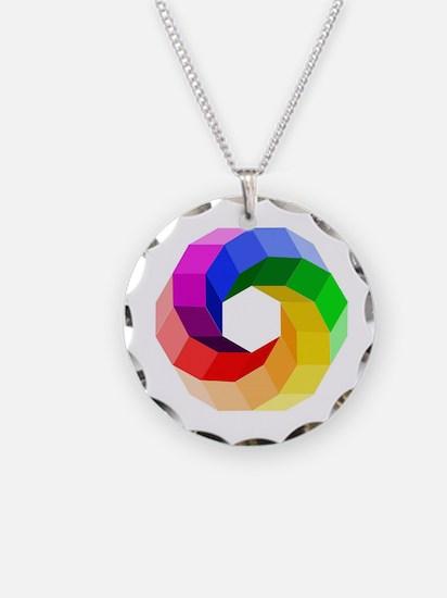 Color wheel- the sever color Necklace