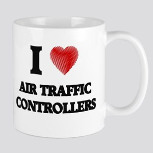 I love Air Traffic Controllers (Heart made fr Mugs