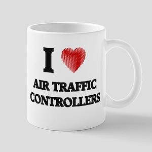 I love Air Traffic Controllers (Heart made fr Mugs