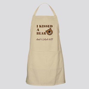 I Kissed A Bear! Apron