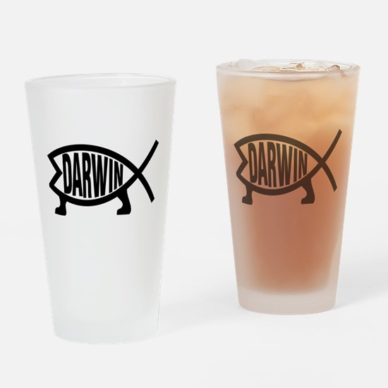 Unique Darwin Drinking Glass