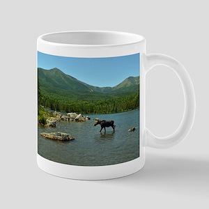 Cow in Baxter park Mug