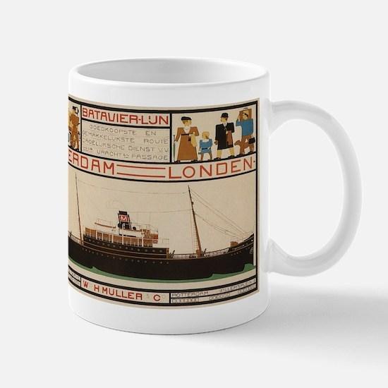 Vintage poster - Rotterdam - London Mugs