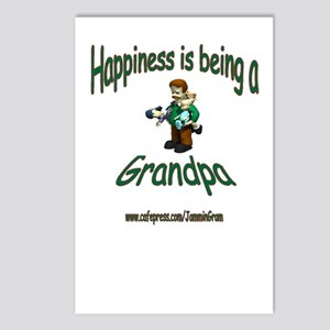 HAPPY GRANDPA Postcards (Package of 8)