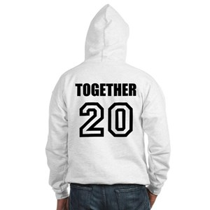 Together Since Matching Hooded Sweatshirt