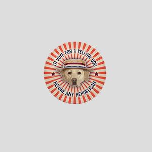 Yellow Dog II Mini Button