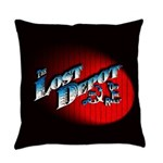 The Lost Depot - Off The Rails Everyday Pillow